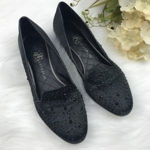 Rock and Republic black loafers